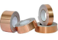 厂家长期供应双导铜箔贴纸 笔记本电磁屏蔽 铜箔胶带 防火铜箔